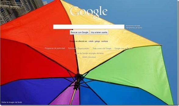 Coloca las fotografías dinámicas de Bing en Google4